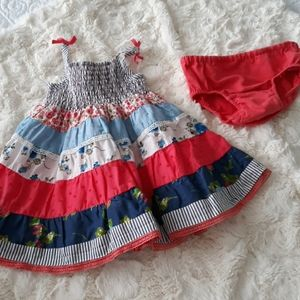 Baby girl summer dress childrens place 6-9m